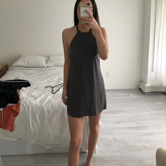 Revolve NBD grey dress